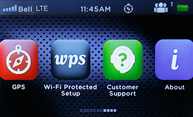 novatel wireless mifi 2 home screen