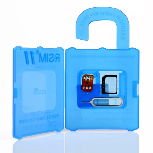 R-sim 11 unlocking sim card for Apple iphone 5/6/6+/6s/6S+/7/7+ iOS10