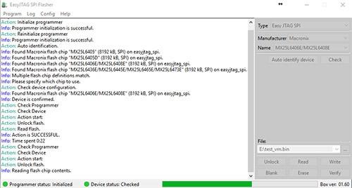 Z3X EASY JTAG PLUS software