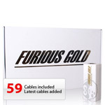 FURIOUS BOX GOLD UNLOCKER (31 CABLES & ACTIVATED 1,2,3,4,5,6 PACKS)