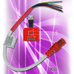 MICRO USB BREAK OUT CABLE WITH SET RESISTOR 130K 301K 530K 910K