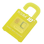 R-SIM 10+ PLUS NANO UNLOCK CARD FOR iPHONE 5 5S 6 6S 7 / iOS 9