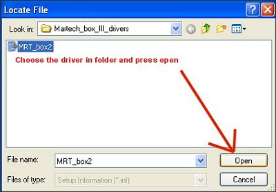 Driver Installation Troubleshooter - Step 7