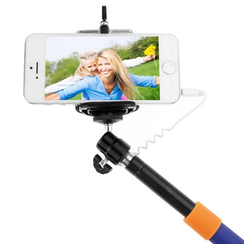 extendable monopod for camara and cell phones