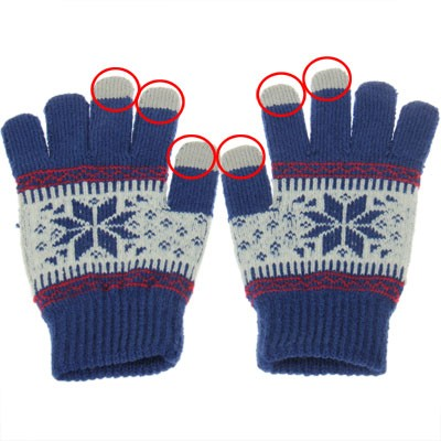 touch screen winter gloves iphone 6 ipad