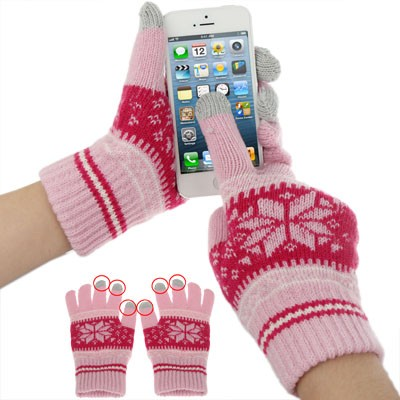 touch screen winter gloves iphone 3 4  ipad