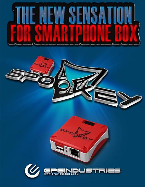 spookey box with uart clip update