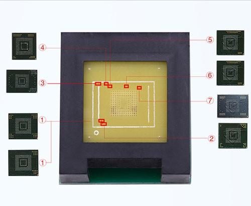 BGA186 BGA153 e-socket  adapter set