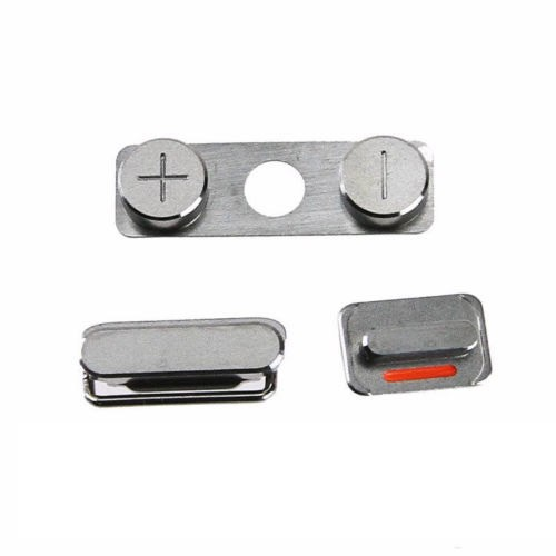COMPLETE SET OF BUTTONS (VOLUME, POWER, MUTE) FOR APPLE IPHONE 4
