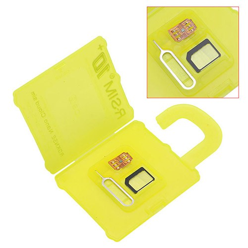rsim 10 plus icloud nano sim card unlock