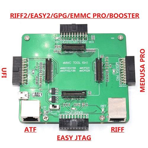 Moorc E-mate pro box for emmc repair ATF RIFF box