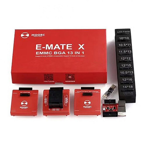 EMATE 13 IN 1 BGA EMMC ADAPTER SET FOR EMMC BOXES