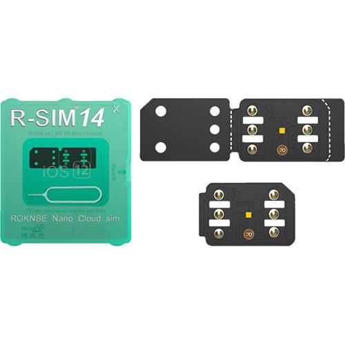 R-sim 14 nano unlock sim card iphone 8, x , xs max, xr, xs,