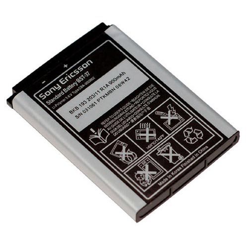 sony ericsson bst-37 bst37 battery j220 k750 k500 k100 j100 w300 w500 w550 w600 w710 z710 v600i