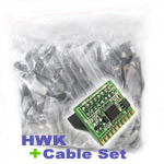 HWK FOR TORNADO UFS3 TWISTER + FULL CABLE SET