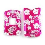 Description     Front and back faceplate for Motorola V3.  Pink flower pattern....