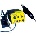 2 IN 1 SOLDERING SMD REWORK STATION (BEST 902A)