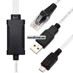 MICRO USB (USB + RJ45) CABLE FOR SAMSUNG B3210 i8000 i8320 i6500u i5700 SPT BOX