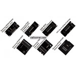 7 PCS JTAG ADAPTER SET - SAMSUNG (S6500 i9070 P1000 T989 i8160 N7000) + HTC ONE