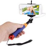 Description  Extendable handheld selfie stick for iPhone 4, 5, 5s, 5c, 6, 6 Plus, Samsung...