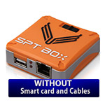 SPT box without smart card included. It can be used for replacement purposes for faulty usb...